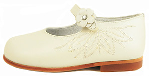 K-1154 - Ivory Dress Mary Janes