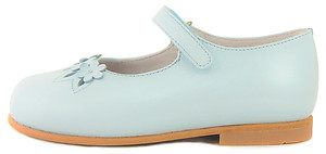 P-2551 - Light Blue Mary Janes - Euro 25 Size 8