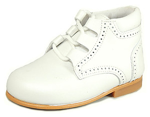 DE OSU P-7683 - White Dress Boots