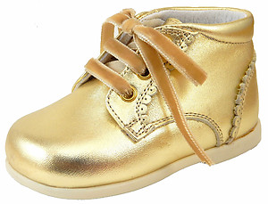 DE OSU P-7779F - Gold Dress Boots