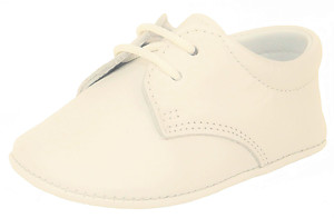 PR-240 - Ivory Dress Crib Shoes