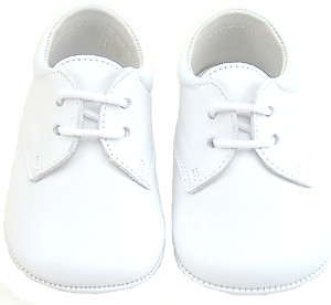 PR-240 - White Dress Crib Shoes