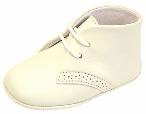 DE OSU PR-241 - Ivory Crib Shoes