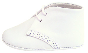 PR-241 - White Dress Crib Shoes