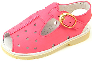 S-6959 - Fuschia Nubuck Sandals