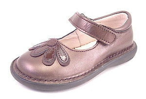 5Z7411 - Brown Metallic Mary Janes