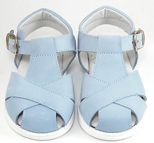 FARO F-4521-  Blue Nubuck Sandals