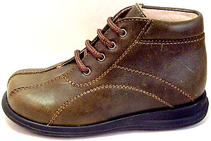 DE OSU/FARO B-6500 - Kahki Leather Boots
