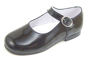 FARO F-4277 - Black Patent Mary Janes