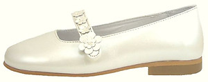 B-7411 - Ivory Pearl Dress Shoes