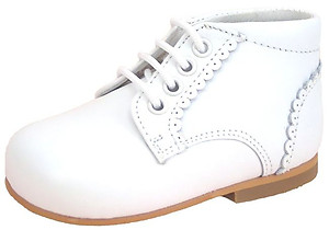 DE OSU P-7779F - White Dress Boots