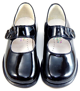 B-6114 - Black Patent Dress Shoes