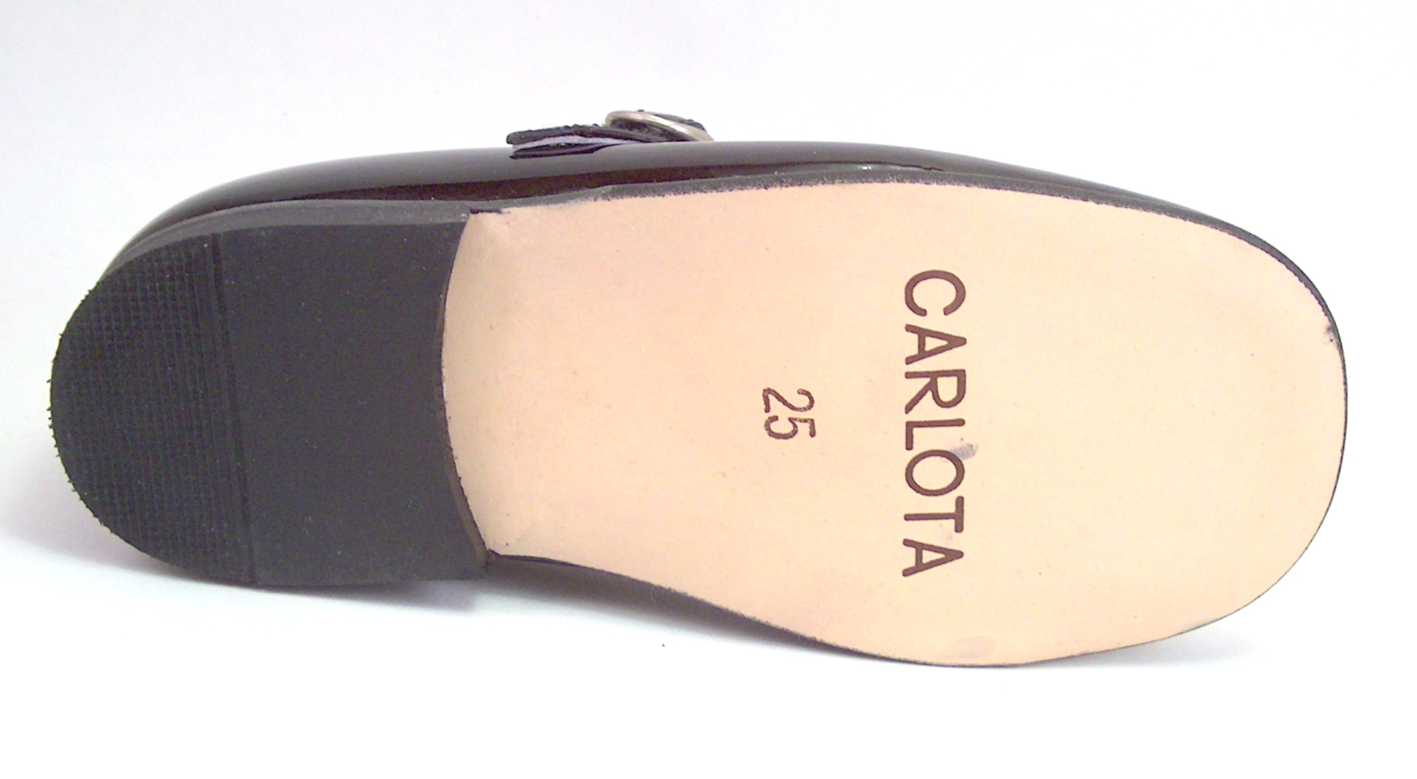 B-7211 - Black Patent Mary Janes - EU 26 US 9
