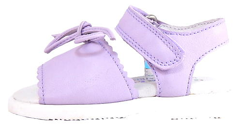 B-064 - Lilac Leather Sandals - EU 19 US 4