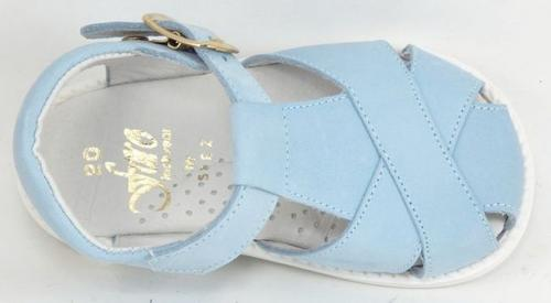 FARO F-4525 - Blue Nubuck Sandals