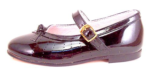 2608 - Black Patent Mary Janes
