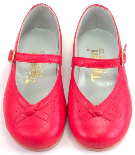 DE OSU 2608 - Red Dress Mary Janes