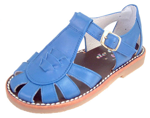 3468 - Blue Fisherman Sandals