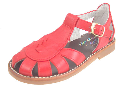 3468 - Red Fisherman Sandals