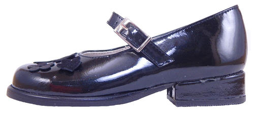 B-6124 - Black Patent Dress Shoes