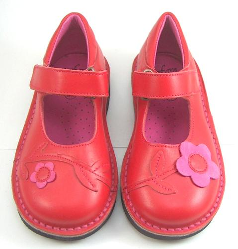 FARO 5Q0311 - Red - Fuschia Mary Janes - Euro 24 US 7