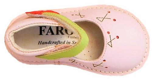 FARO 5U1838 - Pink Cherry Hightops - Euro 19 Size 4