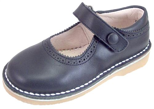 5Z8611 - Navy Blue School Shoes - Euro 24 Size 7