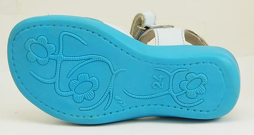 FARO 6Y1986 - Turquoise Starfish Sandals - Euro 24 Size 7