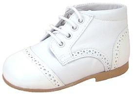 A-432 - White Dress Boots