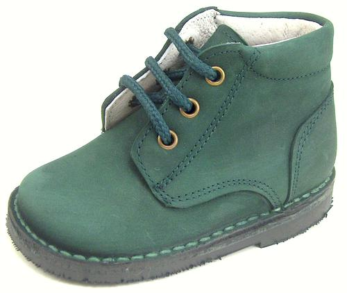 A-534 - Forest Green Boots - EU 19 US 4