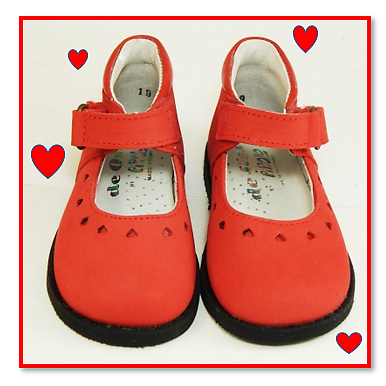 A-568 - Red Heart First Walkers