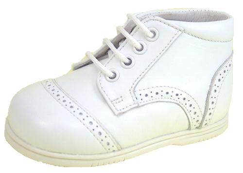 A-432 - Classic White Dress Boots