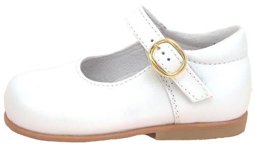 B-111 - White Pearl Dress Mary Janes