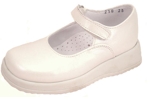 FARO B-218 - Ivory Leather Mary Janes