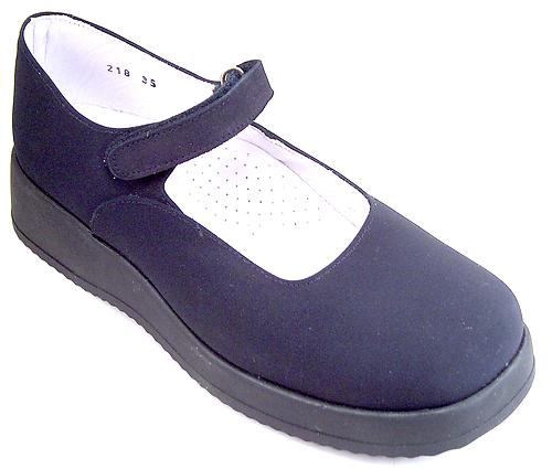 FARO B-218 - Navy Dress Mary Janes