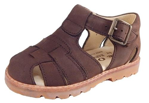 B-7119 - Brown Nubuck Sandals