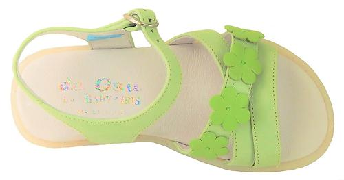 B-7417 - Lime Flower Sandals - Euro 25 Size 8
