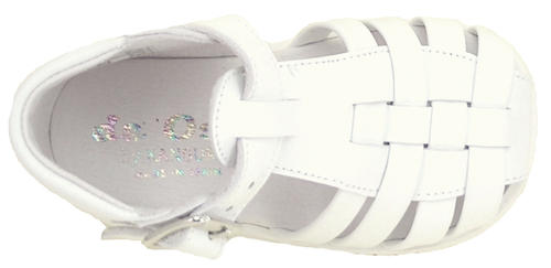 B-100 - White High Top Sandals