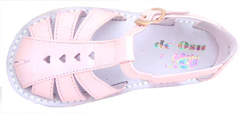 DE OSU 8064 - Pink Heart Fisherman Sandals