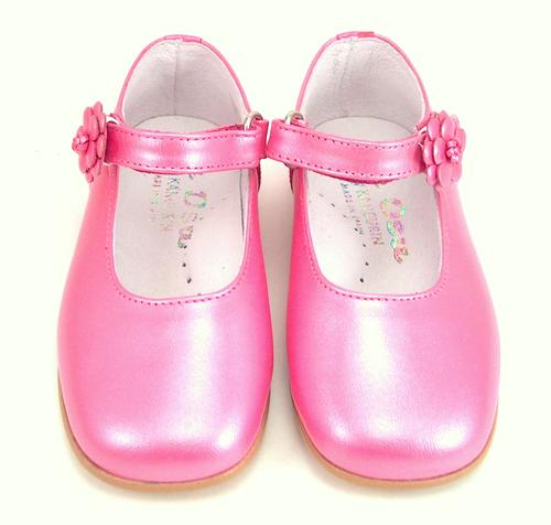 K-1080 - Fuschia Flower Shoes