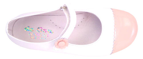 P-1220 -  White Pink Cap-Toes