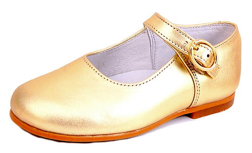 FARO F-4277 - Gold Mary Janes