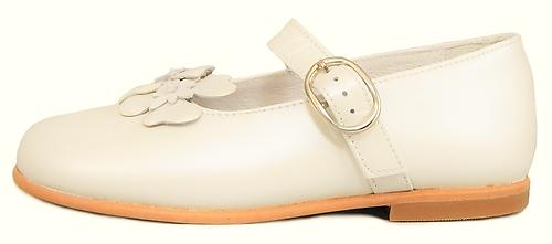 K-1082 - Ivory Pearlized Mary Janes