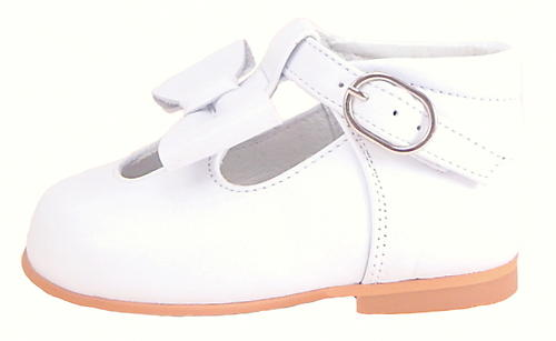 DE OSU K-5625-O - White Bow High Tops