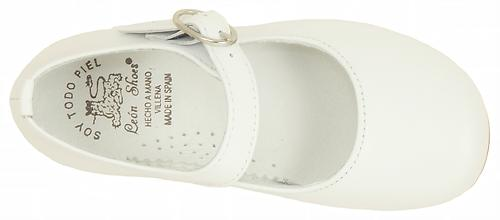 L-12057 - White Dress Mary Janes