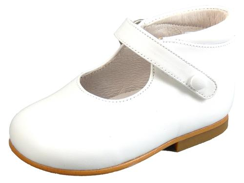 P-6517 - White Button High Tops