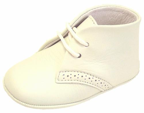 PR-241 - Ivory Crib Shoes
