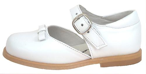 S-1340 - White Dress Mary Janes - Euro 29 Size 11