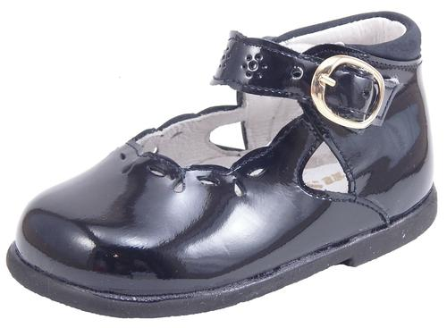 S-7732 - Navy Patent Dress Shoes